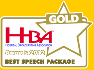 Gold Award for Best Speech Package